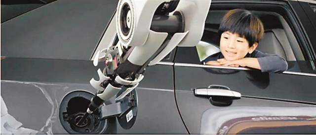 机器人加油站明年现身重庆