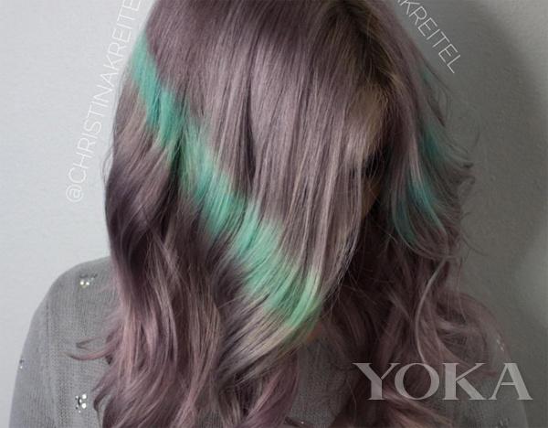 除了权志龙 原来别家爱豆也染过绿头发图片