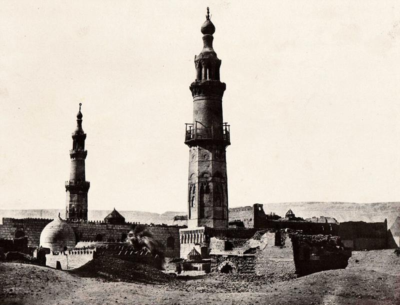 法摄影师170年前所拍照片留住古埃及风景