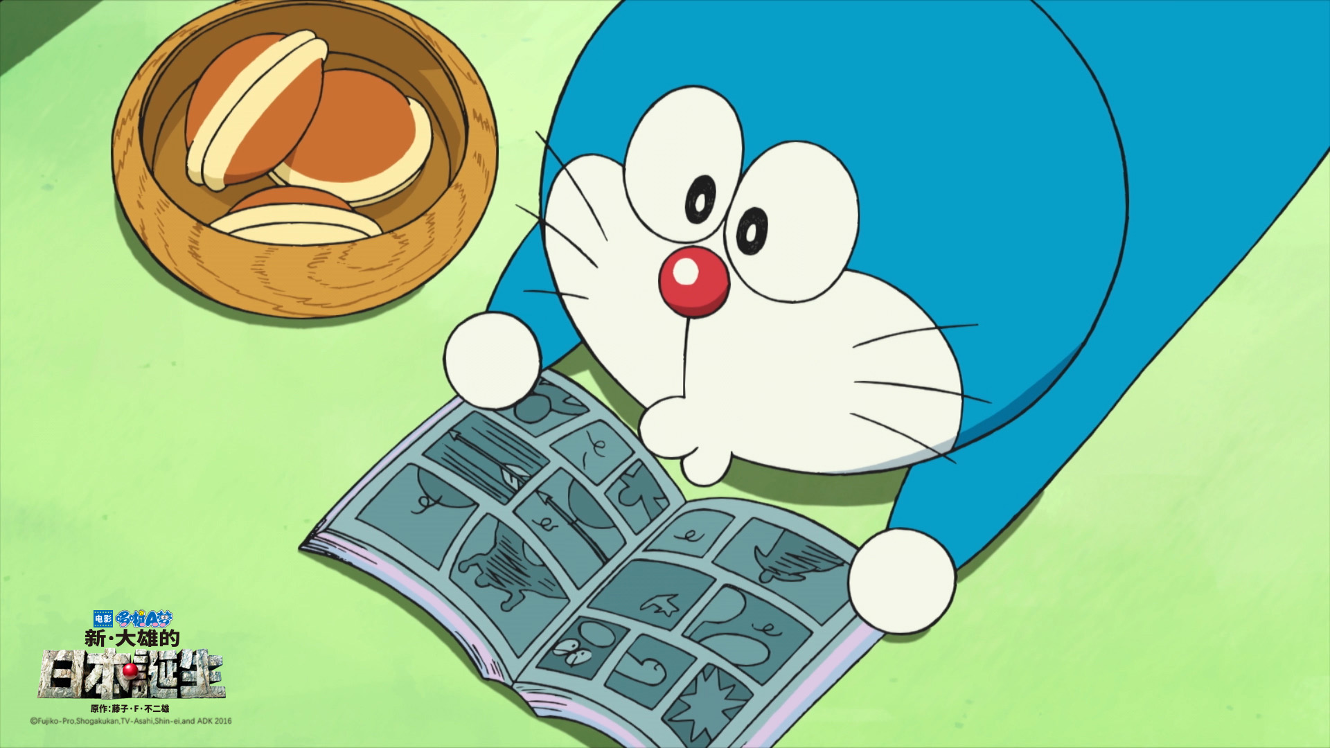 如果哆啦A梦死了,大雄会怎样图片