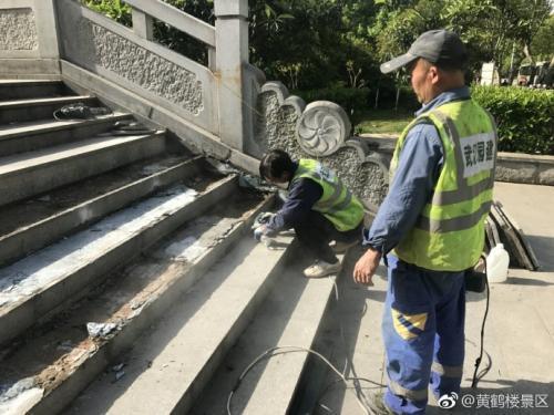 """澳门星际网站:黄鹤楼""""情人坎""""网络爆红"""