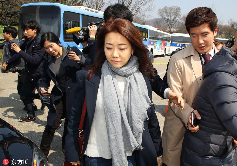韩国前总统朴槿惠开始看守所生活 弟媳前往探视