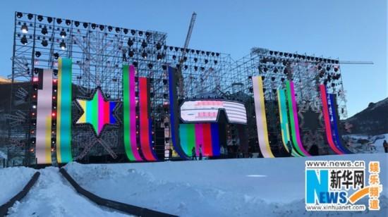 滑雪道搬上舞台?北京卫视跨年玩转三地