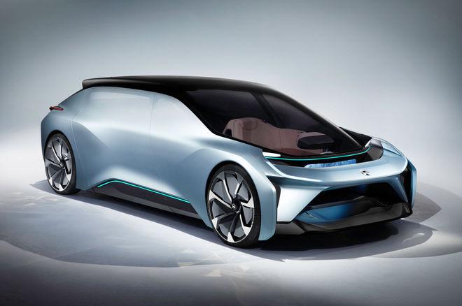 nio eve与ep9无人驾驶概念车正式发布