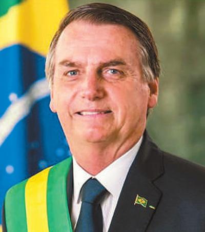 巴西总统博索纳罗助手感染新冠肺炎 曾与特朗普会面