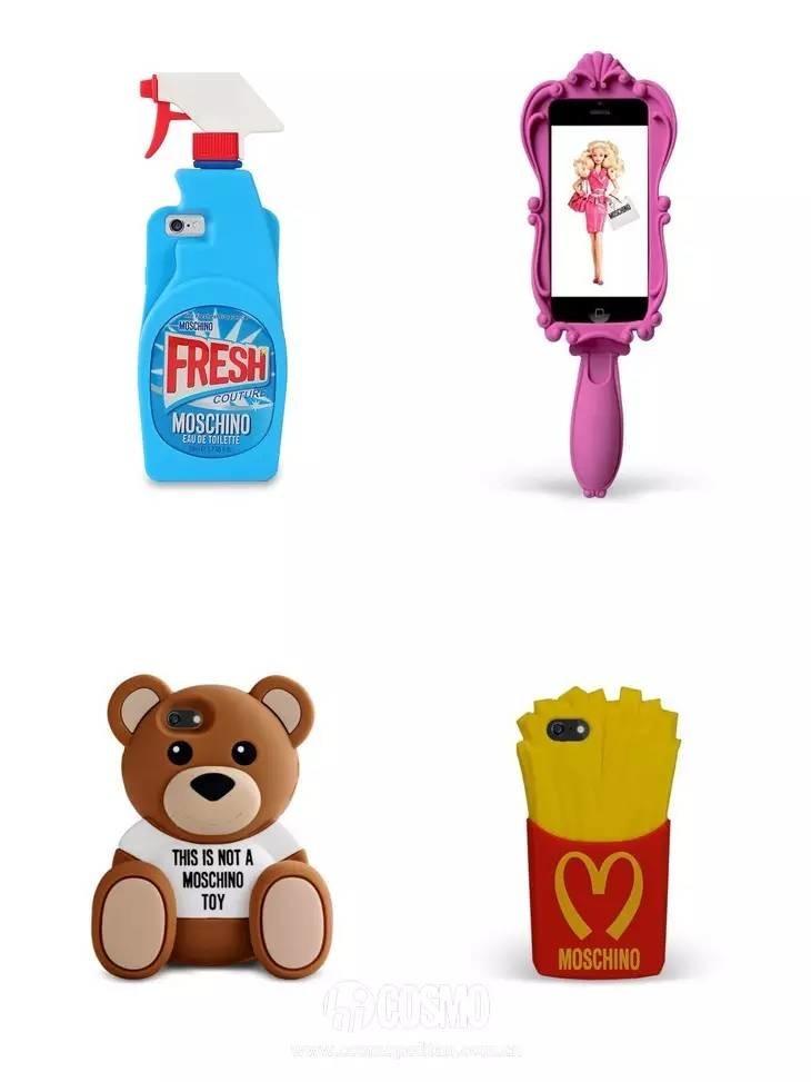 除了海绵宝宝和teddy bear形象,还有童话里的魔镜,清洁剂,麦当劳薯条