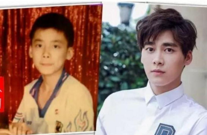 李易峰其实小时候和长大时也是蛮像的.