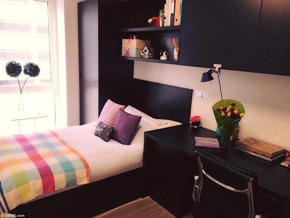 大学寝室壁纸设计
