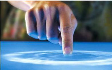 触碰的双手